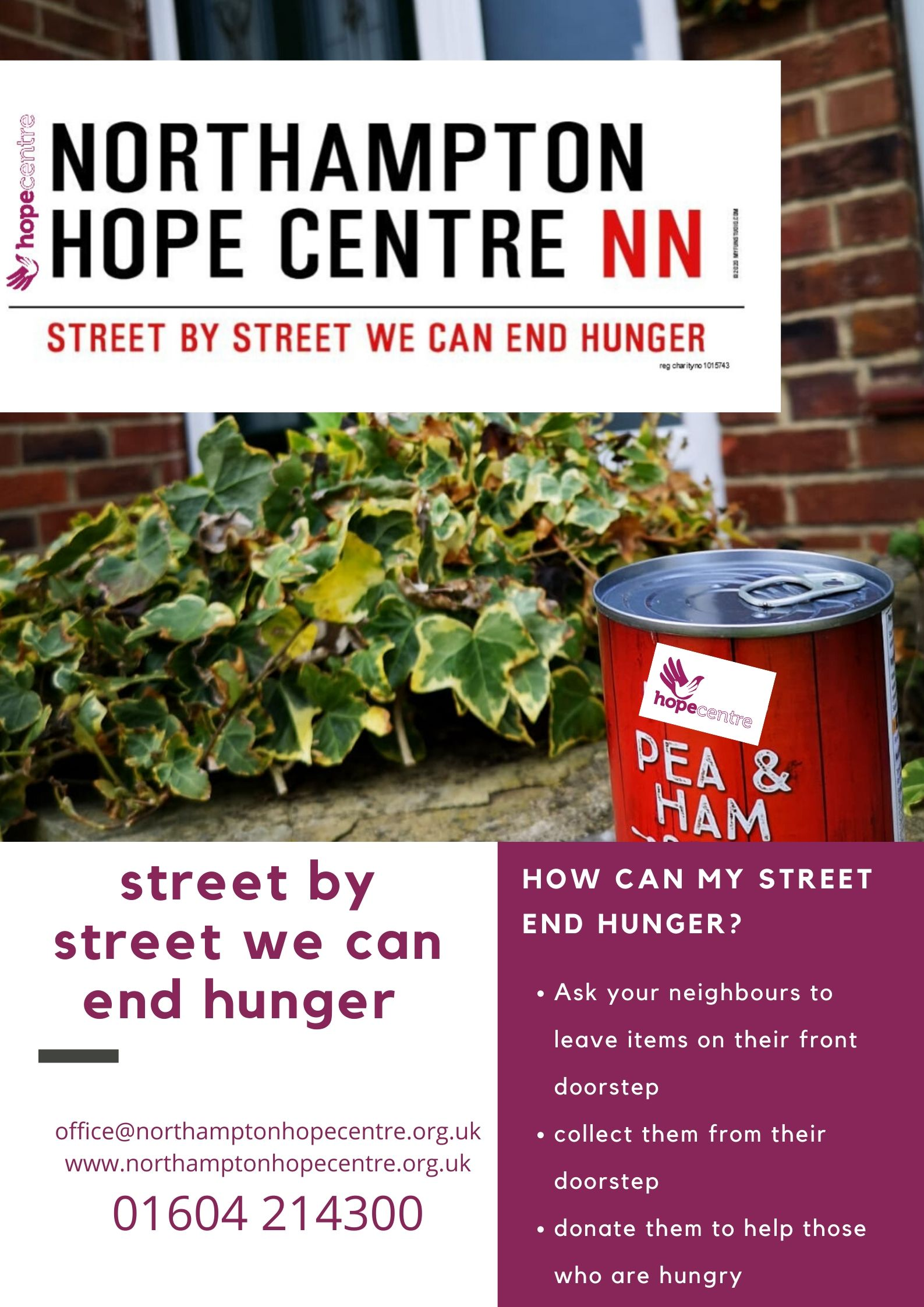 The Street by Street campaign from 2020 lockdown to generate food donations from across the county